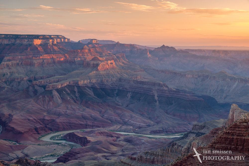 Sunrise at Lipan Point, Grand Canyon