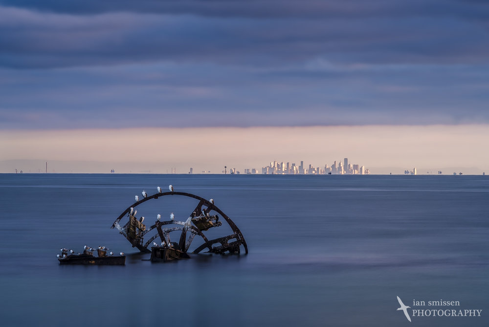 ISO 100, 200mm, 13 seconds at f/16, circular polariser + 3-stop ND filters