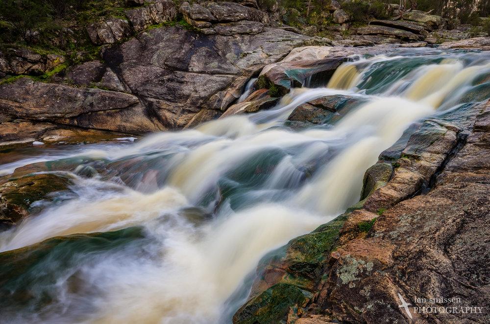Upper cascades, Woolshed Falls