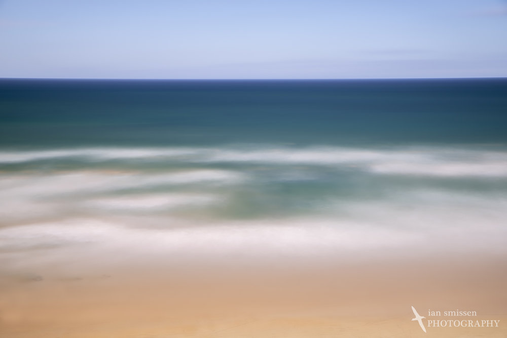 Ocean Grove Beach 55mm, ISO 100, 10 minutes @ f/8, Circular Polarising Filter + 10-stop ND and 6-stop ND Filters