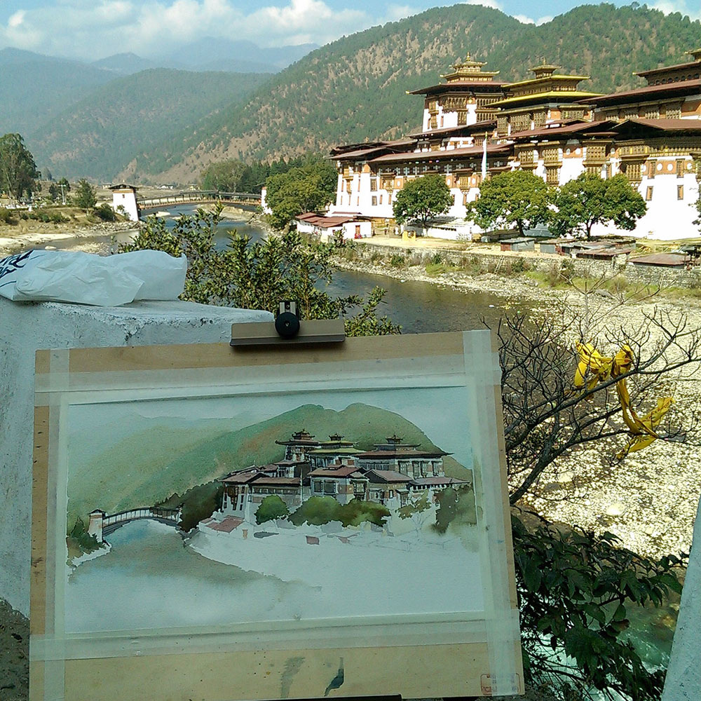 Phunakha, Bhutan