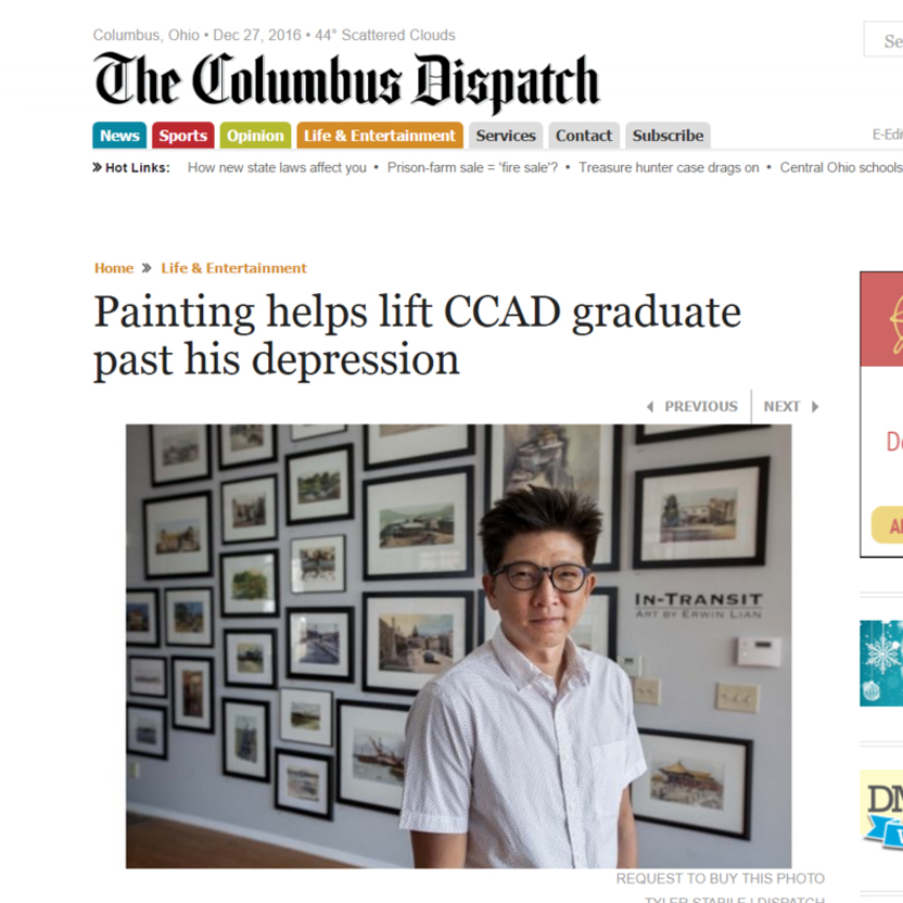 Feature on The Columbus Dispatch