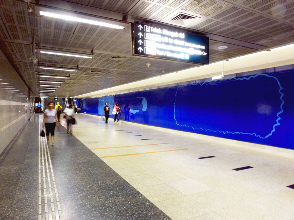 Art in Transit -  An Art Commission by the LTA in our MRT Stations.