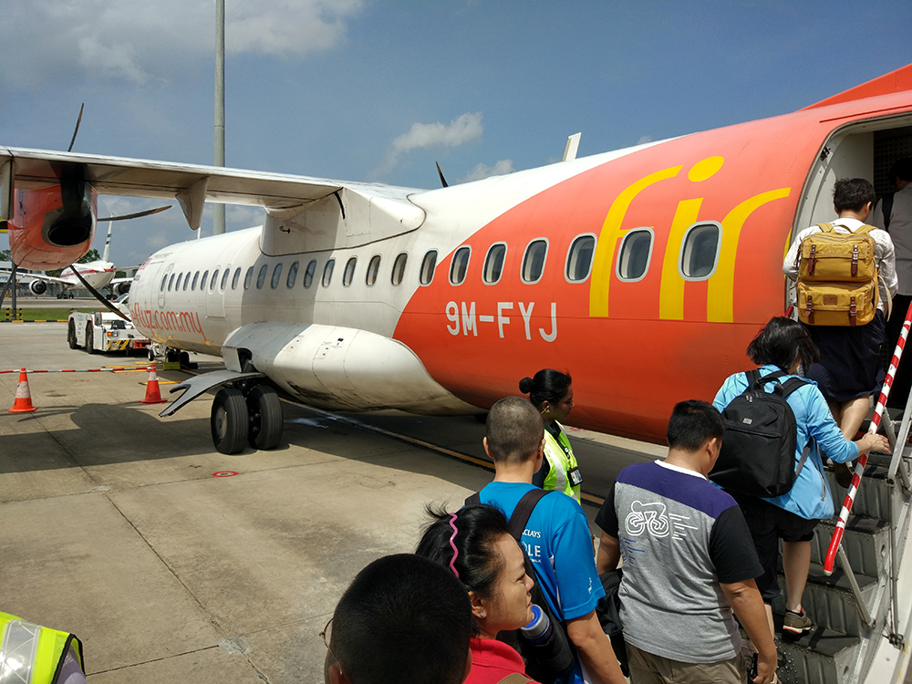 Took an ATR from Singapore for the first time