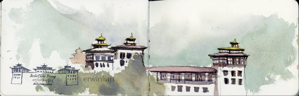 Tashichho Dzong, Thimphu