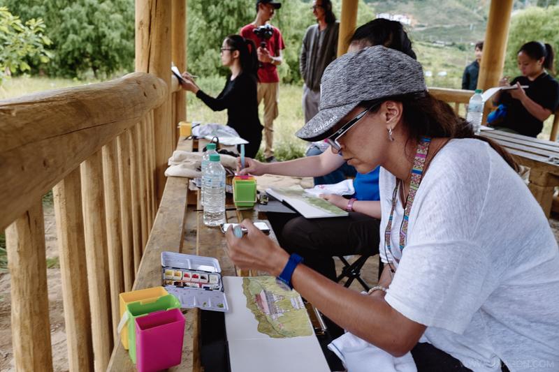 Sketch Bhutan 2017