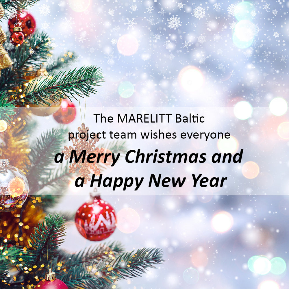 Merry Christmas and a Happy New Year — MARELITT Baltic