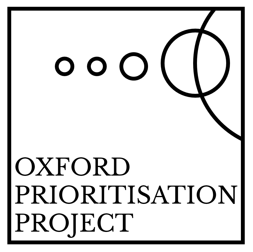 Oxford Prioritisation Project