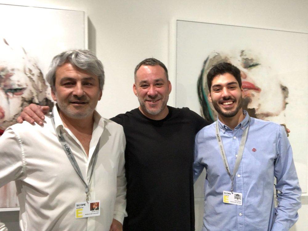 Artistic director Olivier, Juan Miguel Palacios, and Adrian