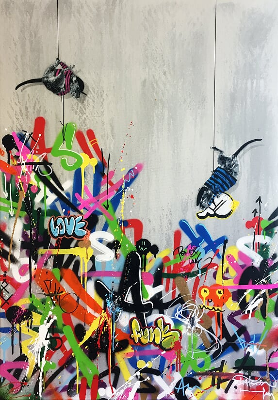 HAMA WOODS | Placing the last pieces (Collab. with Martin Whatson), 2018