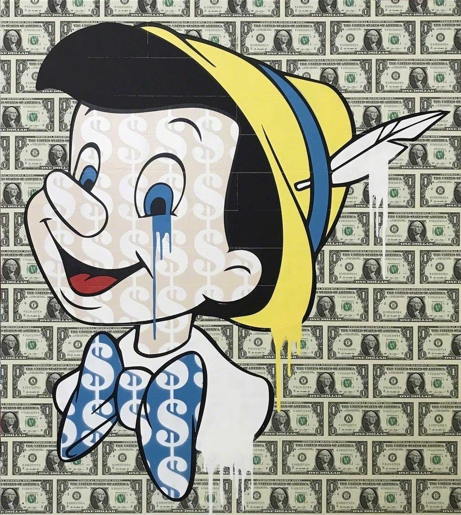 BEN ALLEN I Dollars + Sense - Pinocchio, 2017