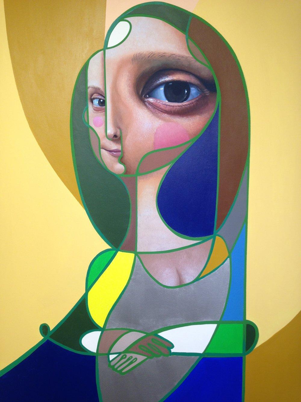 """(SOLD) Belin - """"Mona Lisa Do Brazil"""", 2018"""