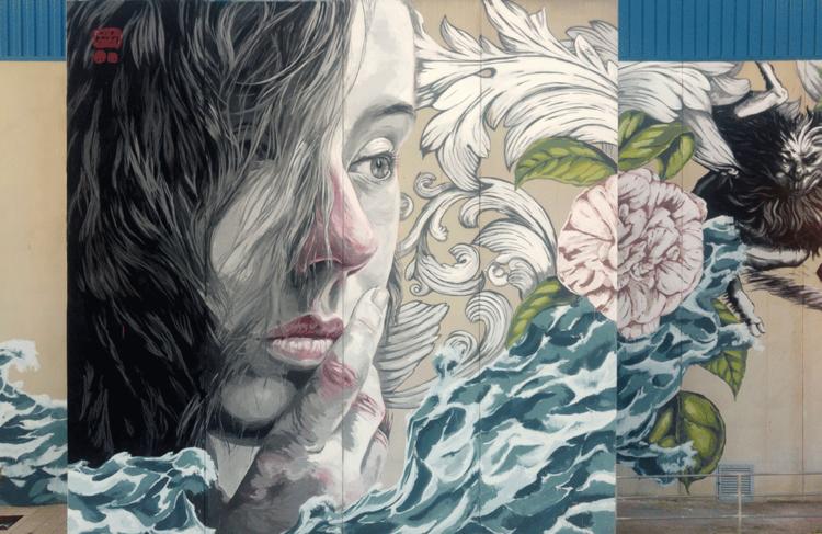 peinture murale de lula goce