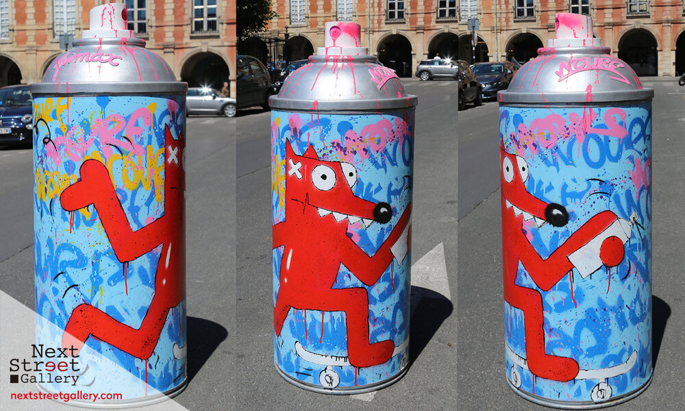 "Pimax - ""Giant Spray Can"", 2018"