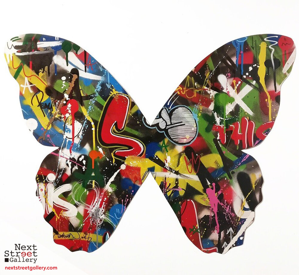 "Martin Whatson - ""Butterfly Cutout"", 2018"