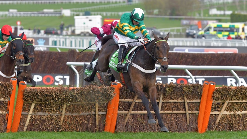 Buveur D'air powering up the hill on the way to last year's Champion Hurdle.