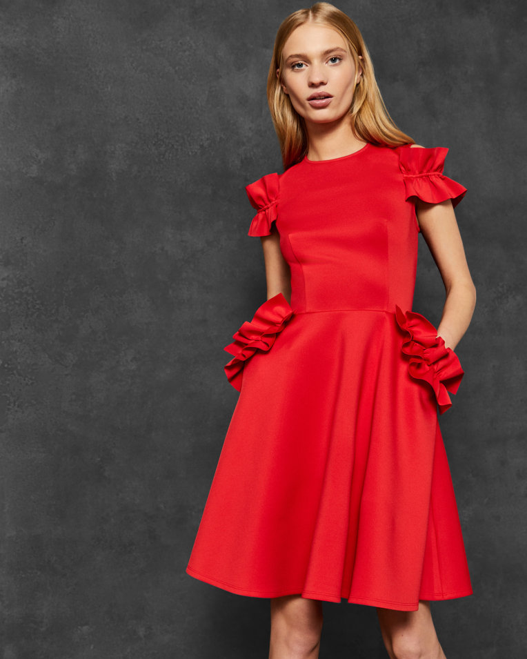 uk%2FWomens%2FClothing%2FDresses%2FDENEESE-Ruffle-detail-dress-Bright-Red%2FWC8W_DENEESE_BRT-RED_1.jpg.jpg