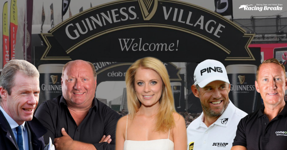 Join Mick Fitzgerald, Alan Brazil, Rachel Wyse, Lee Westwood and Ray Parlour