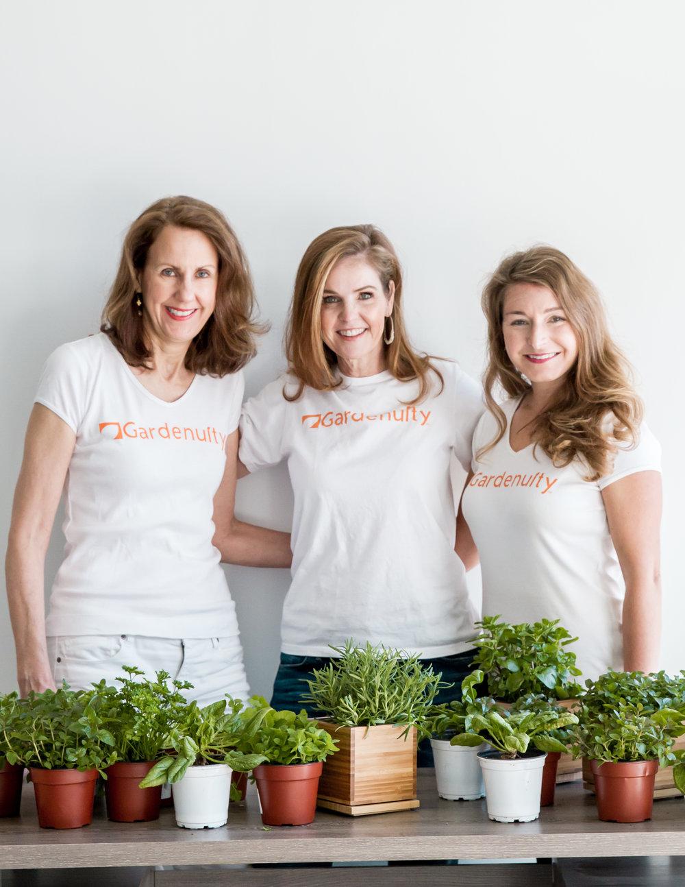 Julie Eggers, Donna Letier, Brie Arthur_Gardenuity.jpg