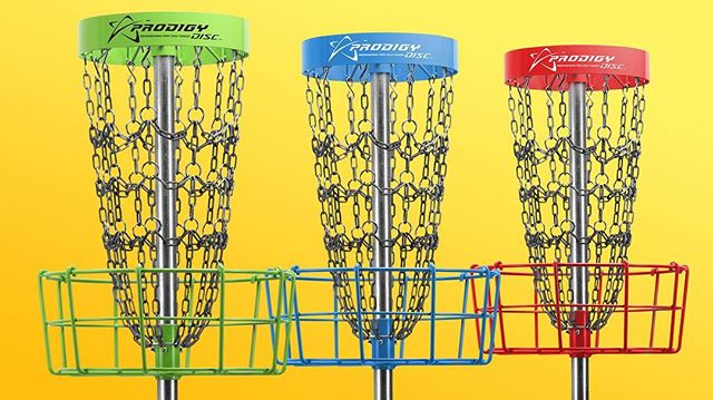 The Prodigy StrikeZone is an advanced, PDGA approved, practice target to help hone your putting skills. Built from the same high quality materials as our professional targets, the StrikeZone is extremely durable and catches extremely well. It features a 10 outer chain configuration with 30 welded rings that connect 30 horizontal chains. ••• Tap the tagged product to shop and learn more! ••• #prodigydisc #poweredbyprodigy #discgolf #throwprodigy