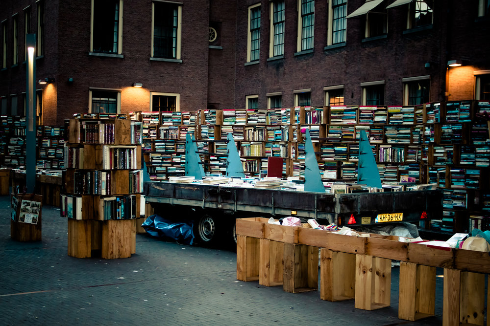 "pascal maramis, ""books at the hague center"" / flickr"