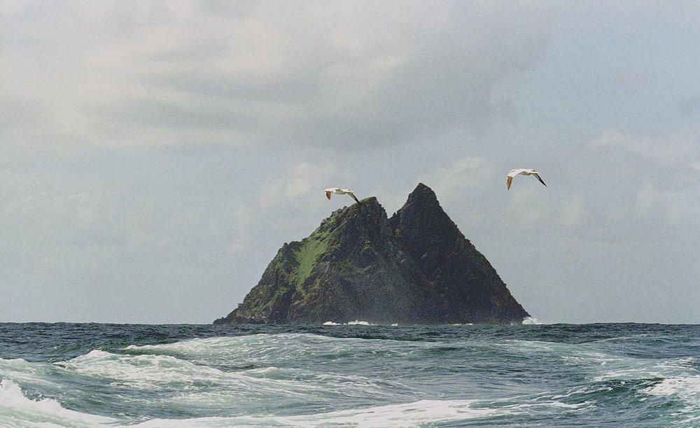 skellig michael, ireland, jerzy strzelecki / wikimedia commons