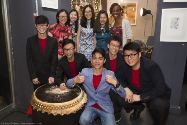 Imperial College's Chinese Lion Dance team!