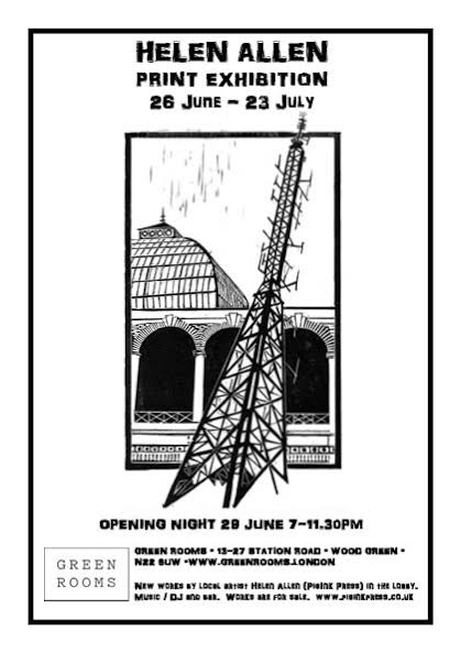 A brand new exhibition at Green Rooms. All welcome. Free entry.