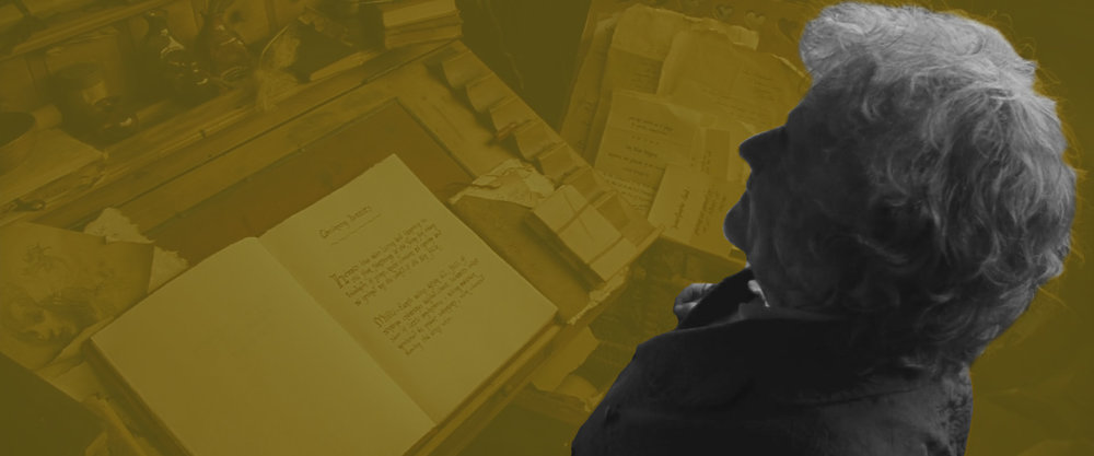 Bilbo checks his book Cult-Roots