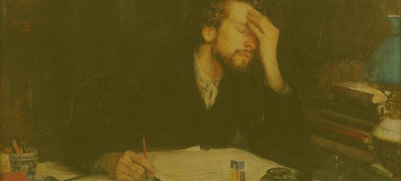 Leonid Pasternak,  La Pasión de la Creación  (Fragmento).
