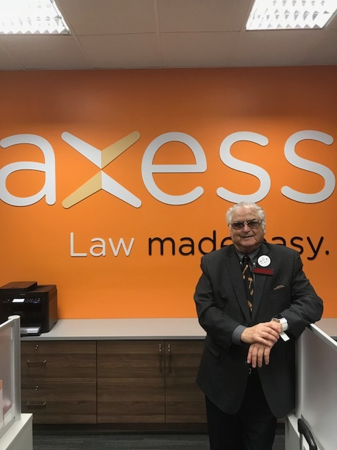 Avi Rosen legal help available at all Axess locations
