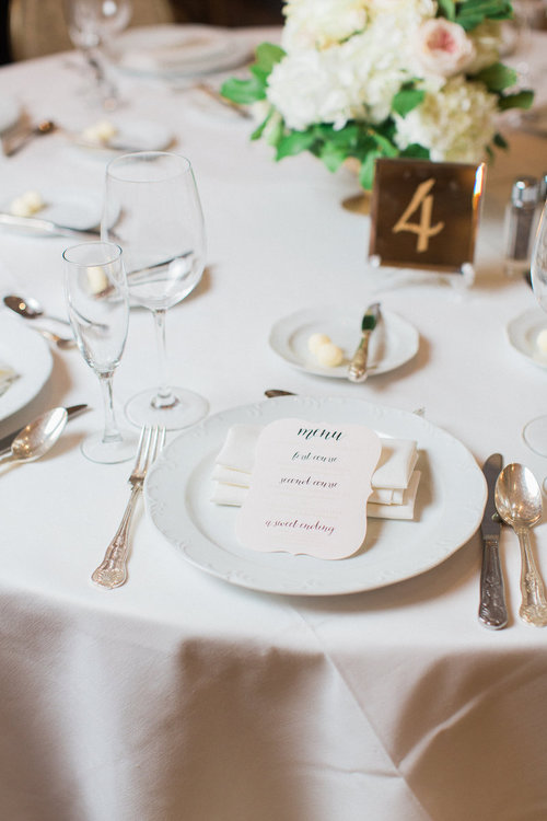 Choosing The Perfect Menu Design For Your Wedding Reception Third