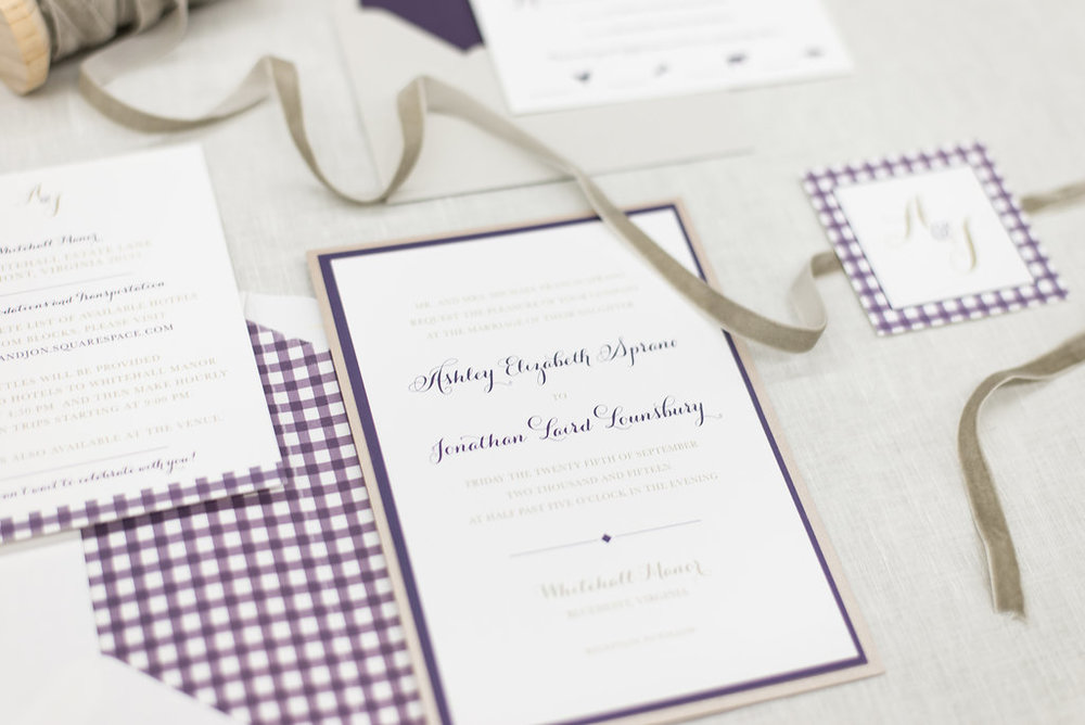 custom-gingham-wedding-invitations-third-clover-paper-red-october-photography