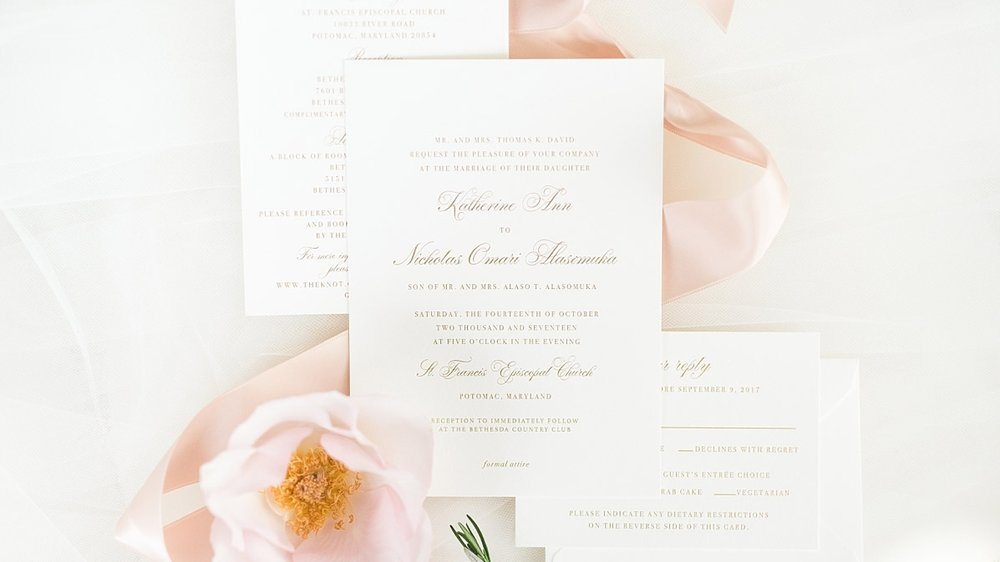 The INVITATION Collection - scroll down to read about our process, pricing + to view current designs.