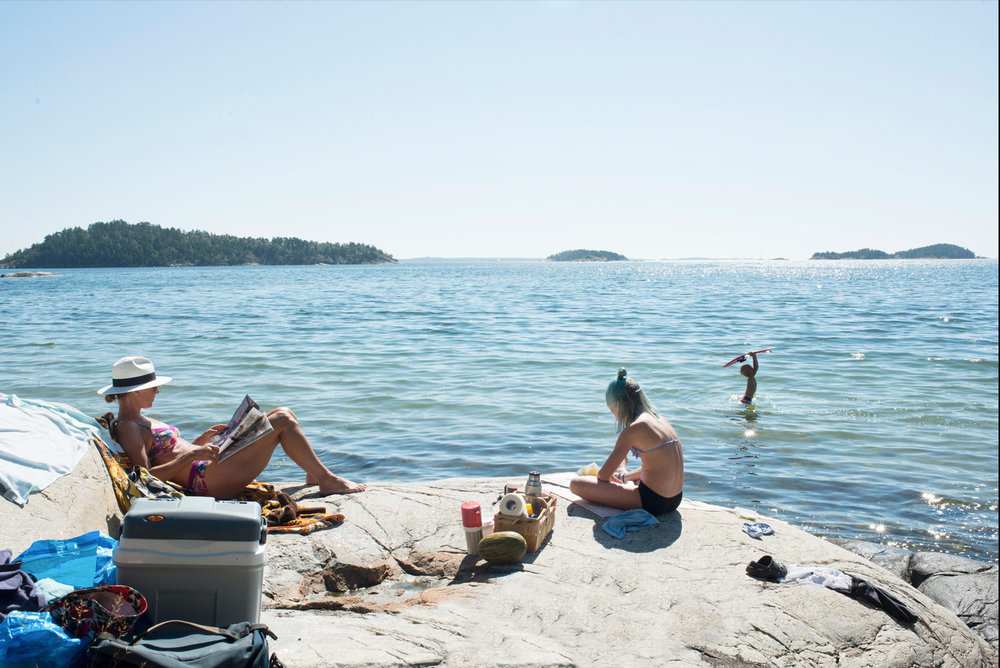 Believe it or not, it is typically Scandinavian to spend days on the   BEACH    BEACH GUIDE