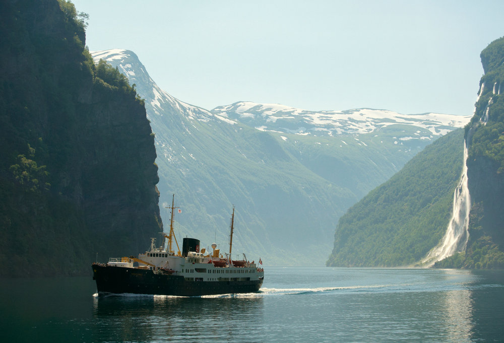 It is typically Scandinavian to have   MAGICAL FJORDS    FJORDS