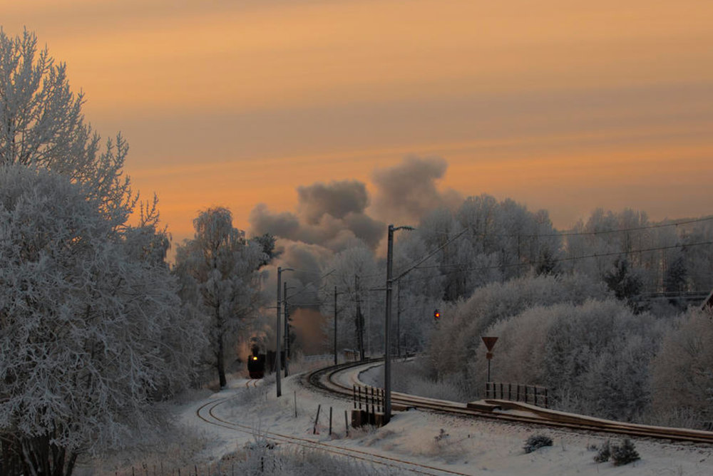 Take a magical steam train journey in Norway    SCENIC RAILWAY    ENJOY
