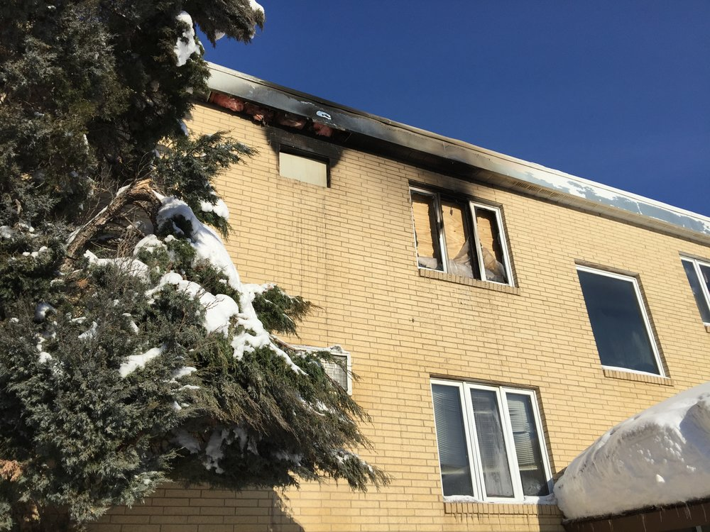 APARTMENT FIRE DAMAGE