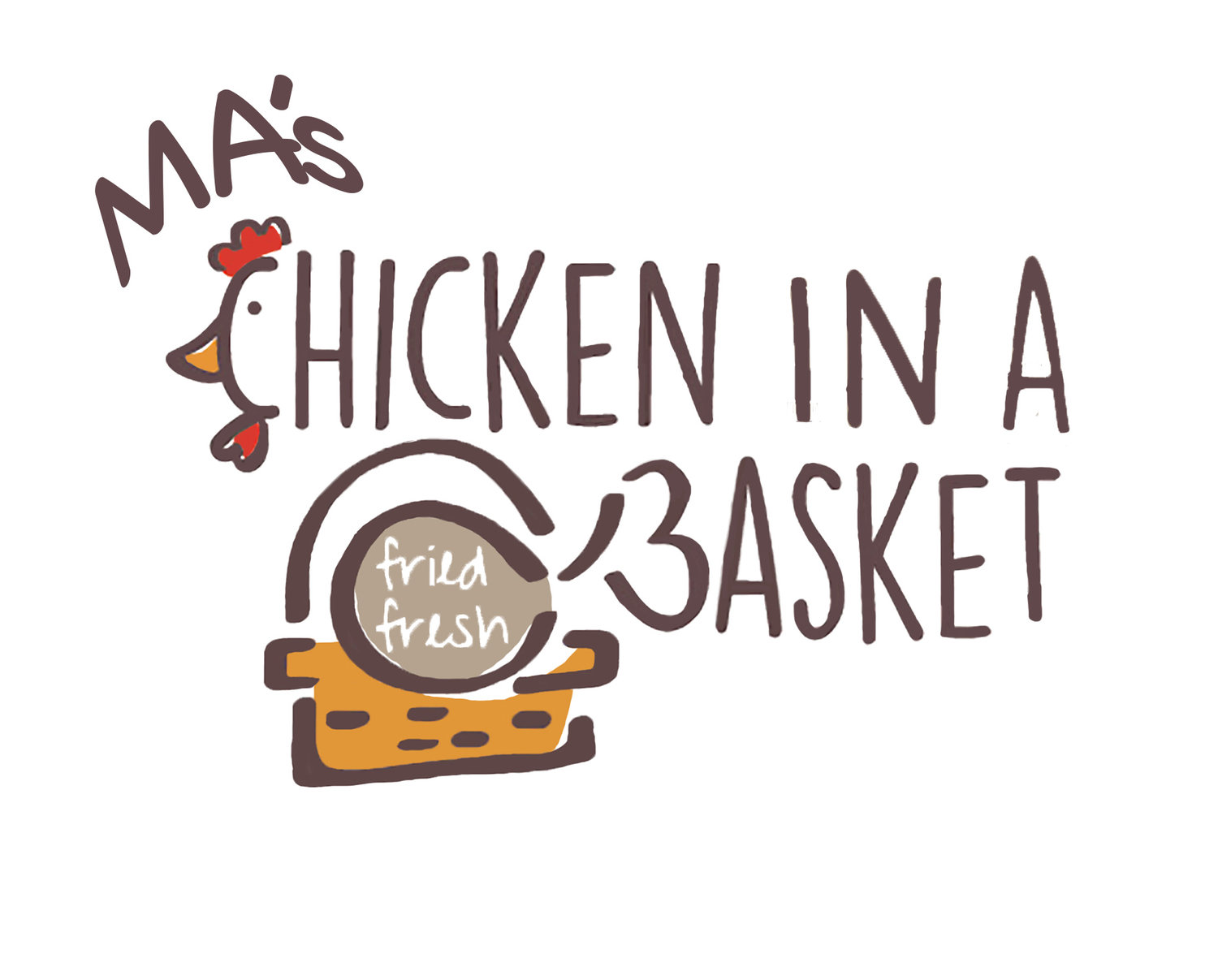 Ma's Chicken in a Basket