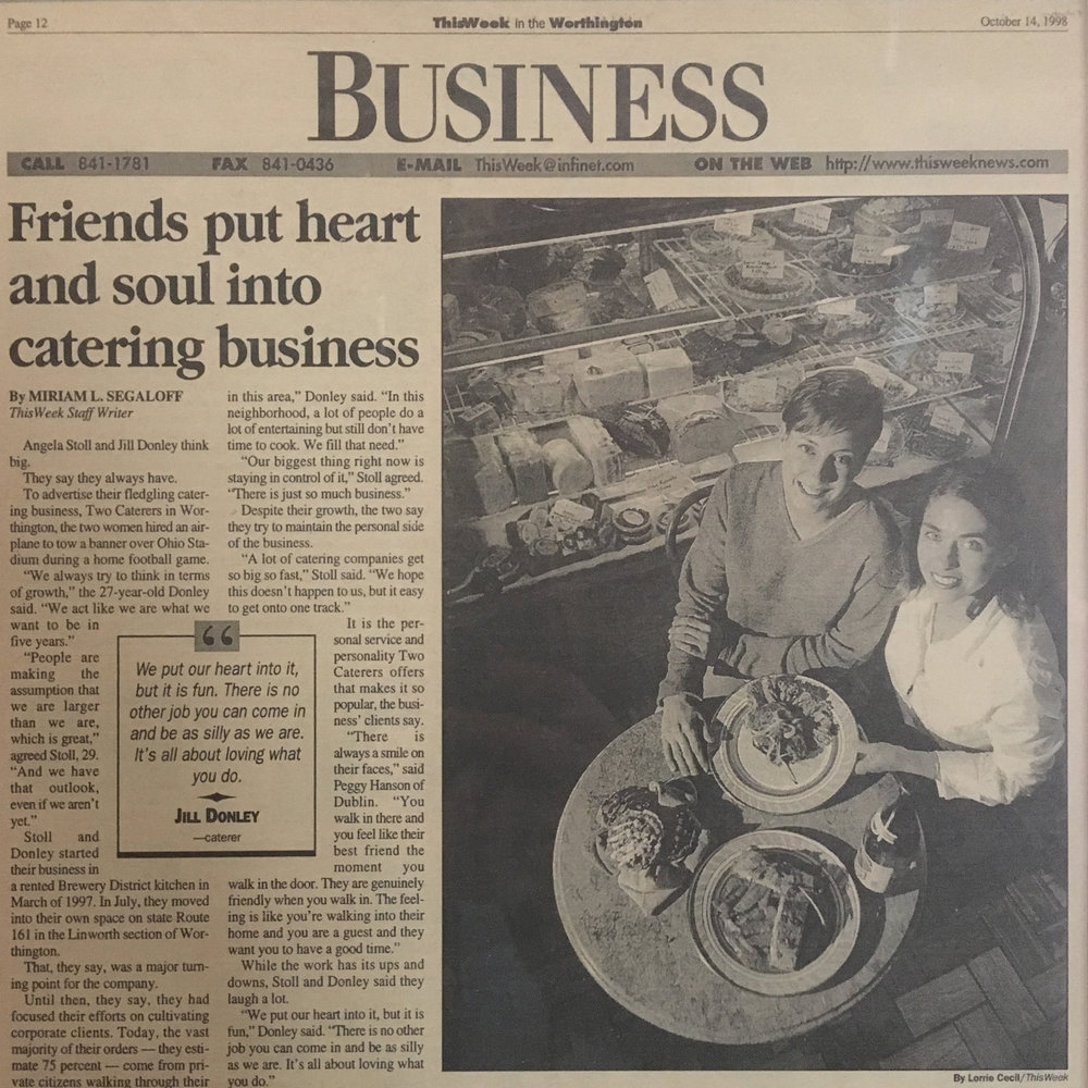 Newspaper Article from ThisWeek - October 14, 1998