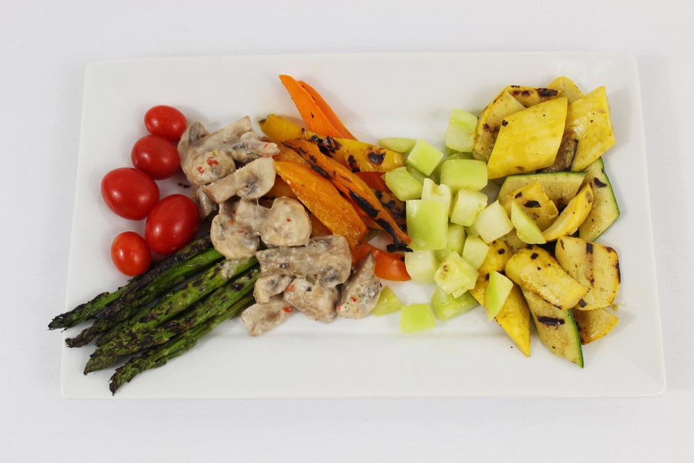 Grilled & Pickled Vegetables