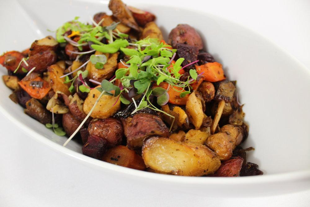 Roasted Seasonal and Root Vegetables