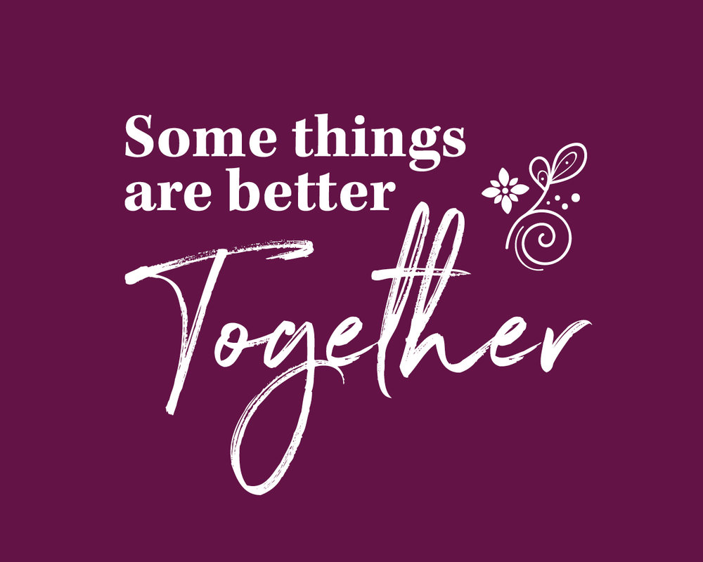 some things are better together 20 yrs fresh two caterers