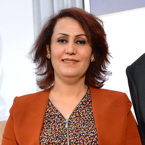Dr. Nagham Nawzat Hasan    Yezidi activist and gynaecologist Iraq   For dedicating her career to promoting equality for women, combating gender-based violence, and providing support to survivors of sexual violence.