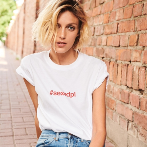 Anja Rubik    Model and Activist Poland   For her activism against Period Poverty  and for standing at the rights of women all around the world. Vogue Poland's Editor, Filip Niedenthal, will award her personally.