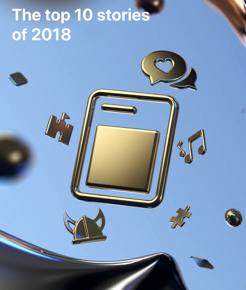 Apple names Elbi as of their favourite 2018 stories.