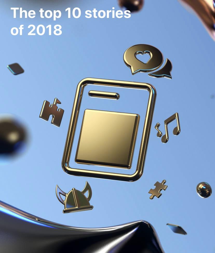 Apple names Elbi as of their favourite 2018 stories.