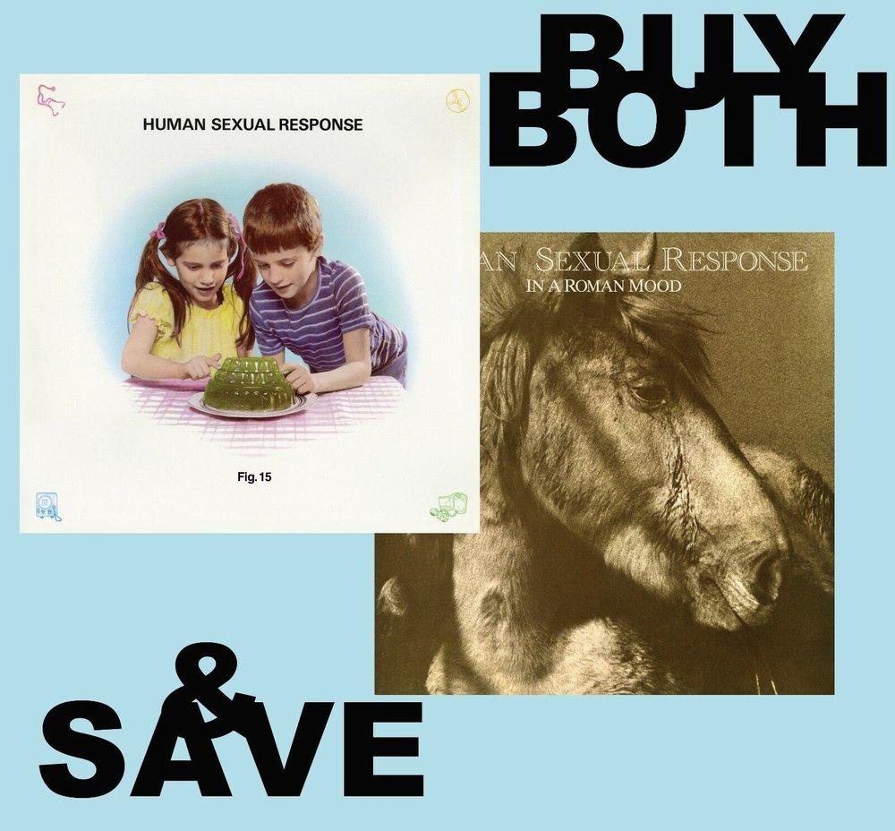 Human Sexual Response / BOTH CDs Save S&H -