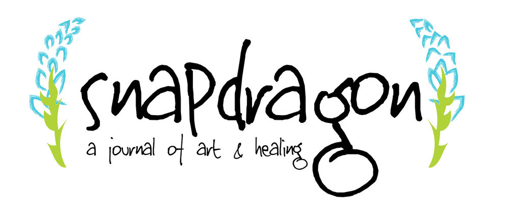 Snapdragon: A Journal of Art & Healing   is aimed to be the premier online literary journal for writers, photographers, and all who are looking to creativity as a way to process and express the healing journey.