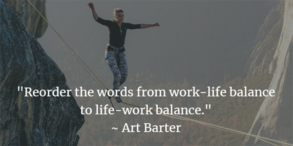 The Life-Work Balance of Servant Leaders - http://moneyinc.com/life-work-balance-servant-leaders/I was recently asked about how I balance the demands of my CEO work life at Datron with my personal life. It's a very interesting question, in very interesting times. I live in North San Diego County in California, where the weather is great, the coast is beautiful, the mountains are within driving distance, and Disneyland is just up the interstate.